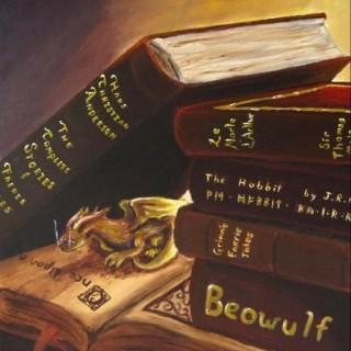 Golden Bookwyrm