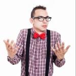 Portrait de Geek attitude