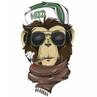 Cannabis Ape