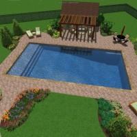 Pool Landscape Design Michigan | Michigan Pool Designs