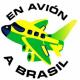 En avion a Brasil