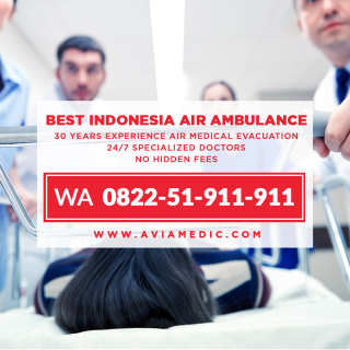 Air Ambulance in Indonesia