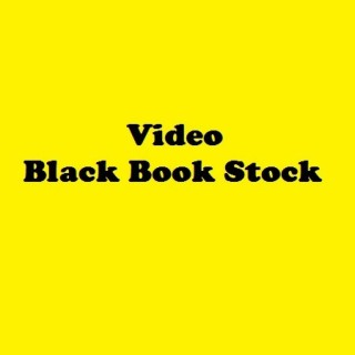 Video Black Book Stock