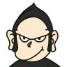 お父さんゴリラが困っている表情のイラスト Onwaイラスト