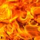 T on fire