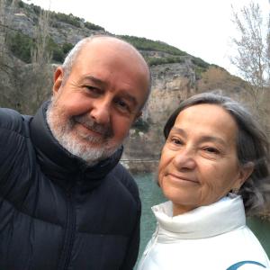 José Zurita y Macarena Chías
