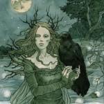 La dea corvo