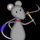 La souris perlée