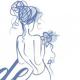 Gabrielle   Blue Bouquet Bride