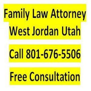 Family Law Attorney West Jordan Utah