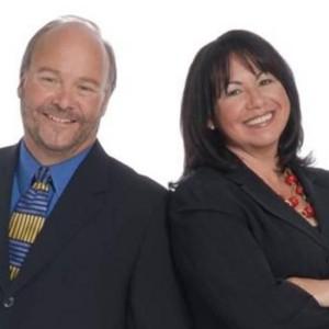 Rich Kizer and Georganne Bender