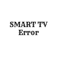 Avatar of Smart TV Error