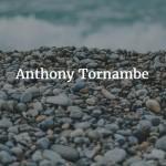 Photo of Anthony Tornambe