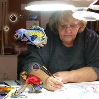 Julie Bergeron, Artist & Illustrator