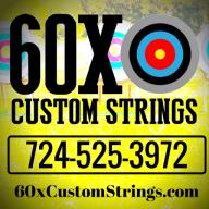 60X Custom Strings