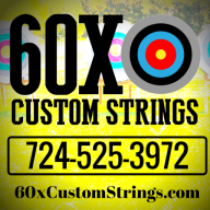 60X Custom Strings