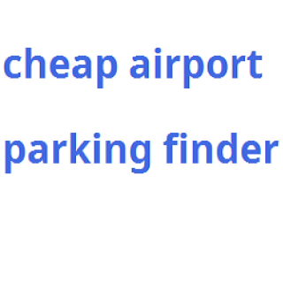 Cheap Airport Parking Finder