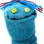 lil blue sock