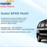 Profile picture of gadai bpkb mobil mandiri