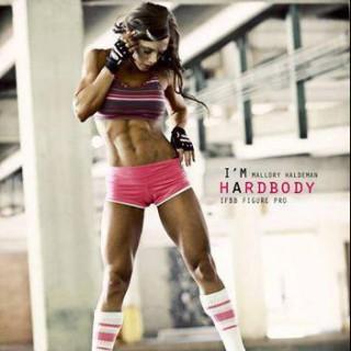 Mallory Haldeman IFBB Pro