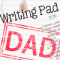 Justin-Writing Pad Dad