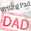 Justin-Writing Pad Dad