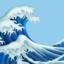 wave emoji