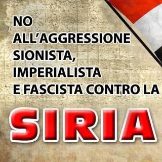 Comunisti per la Siria e con ALBA