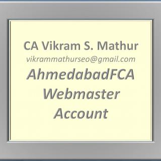 CA Vikram S. Mathur (SEO)