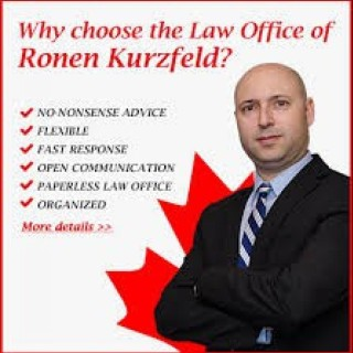 Ronen Kurzfeld immigration lawyer Toronto