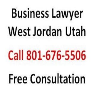 Business Lawyer West Jordan Utah