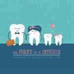 Una madre en el dentista
