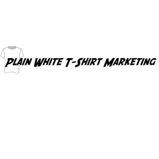 Plain White T-Shirt Marketing