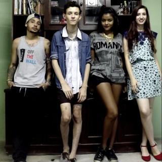 Sarah, Victor, Dani e Bruno