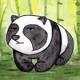 Unimpressed Panda
