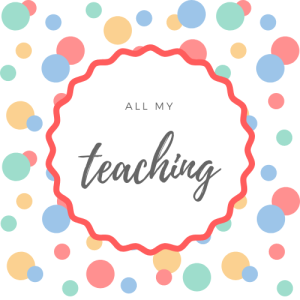 All My Teaching