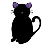 Goth Kitty Lady
