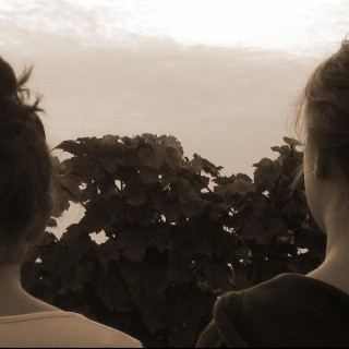 Hannah und Franzi