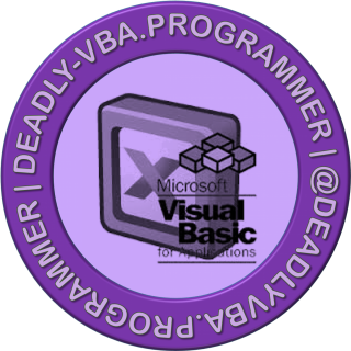 Deadly VBA Programmer