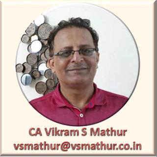 CA Vikram Shankar Mathur (V)