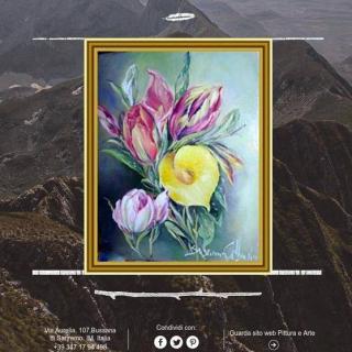 "pittrice artistica Susanna Galbarini in ""PITTURARTISTICA"" 39° ANNIVERSARIO"