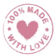 100% Made With Love