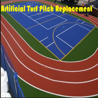 Artificial Turf Pitch Replacement