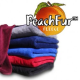 Peach fleece