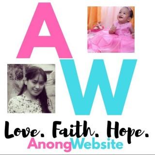 AnongWebsite - Love. Faith. Hope.