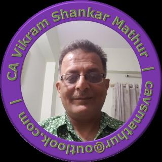 CA Vikram Shankar Mathur (O)