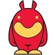 Robot Merah