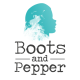 Sarah Boots and pepper