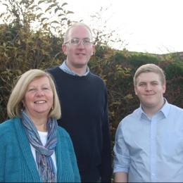 Cllr Ann Reid, Cllr Stephen Fenton & Cllr Ashley Mason