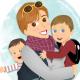 Lucrezina - Peekaboo Travel Baby
